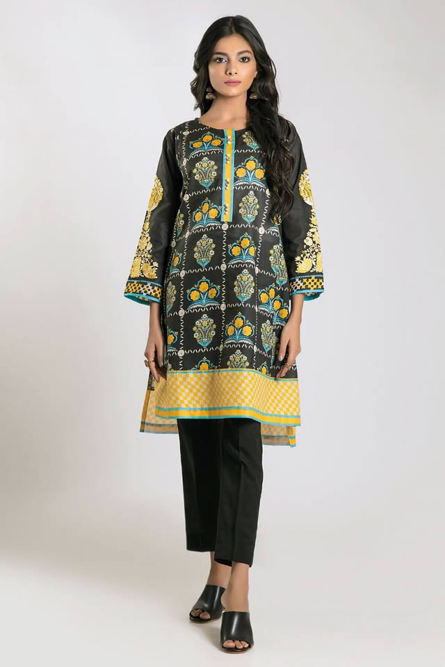 Printed Lawn Unstitched Collection 2019 By Khaadi (4)