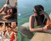 Priyanka Chopra shares swimsuit photos taken by husband Nick Jonas (1)