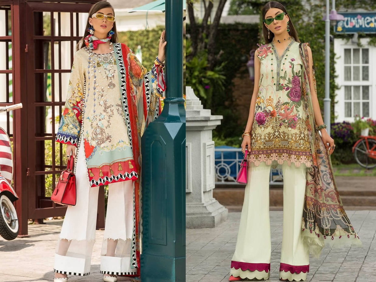 Saadia Asad Womens Digital Printed Lawn Collection 2019 (1)