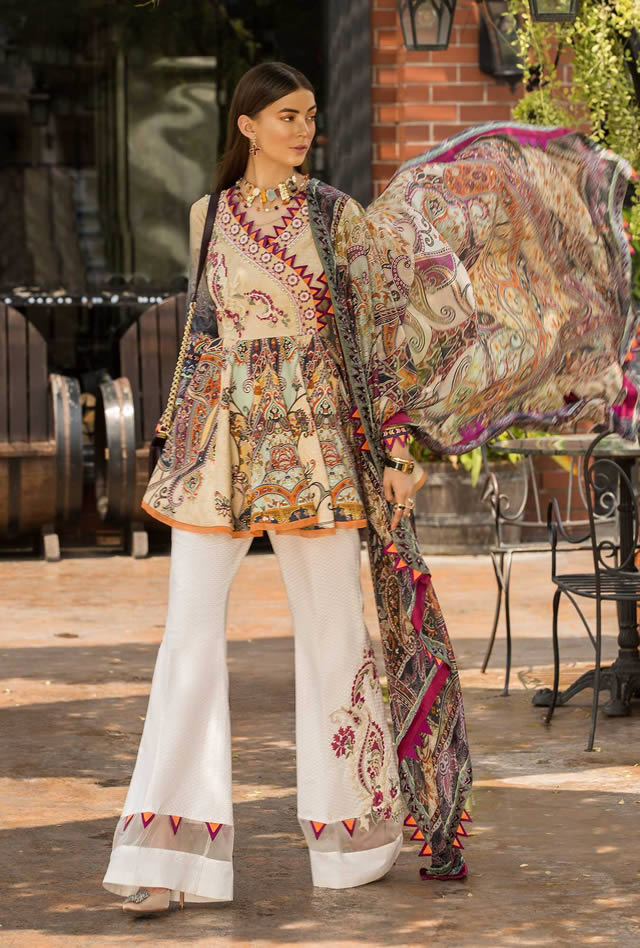 Saadia Asad Womens Digital Printed Lawn Collection 2019 (11)