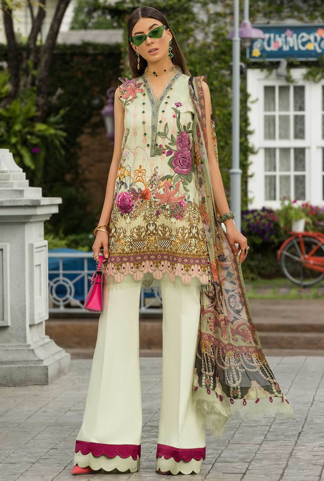 Saadia Asad Womens Digital Printed Lawn Collection 2019 (13)