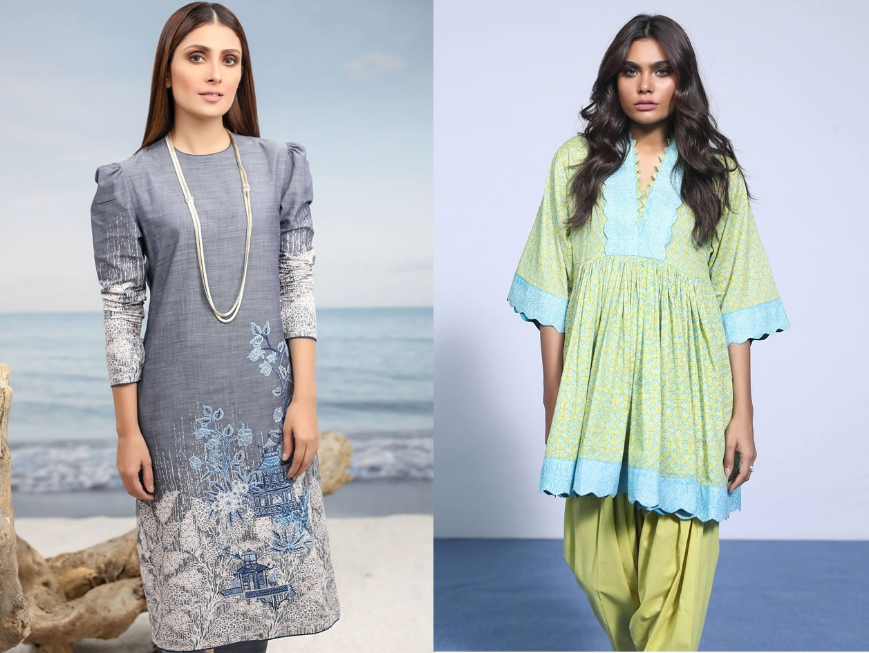 Spring Summer 2019 Collection By AlKaram (1)