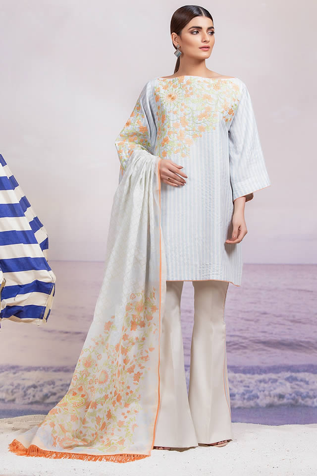 Spring Summer 2019 Collection By AlKaram (10)