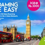 Zong 4G offers unbeatable Prepaid data roaming while traveling to United Kingdom