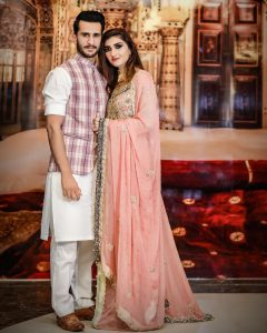 Cricketer Hassan Ali with his Wife at Shoaib Malik and Sania Mirza House in Dubai (2)