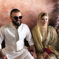Hamza Ali Abbasi and Naimal Khawar Nikah HD Pictures Video (1)