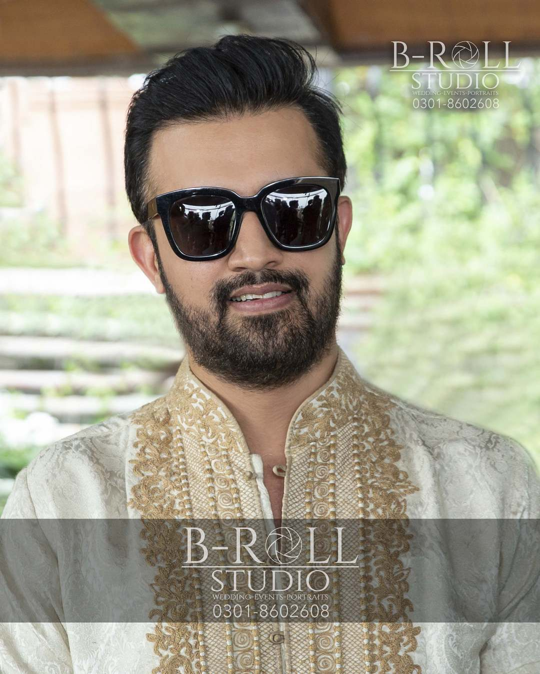 Hamza Ali Abbasi and Naimal Khawar Nikah HD Pictures Video (20)