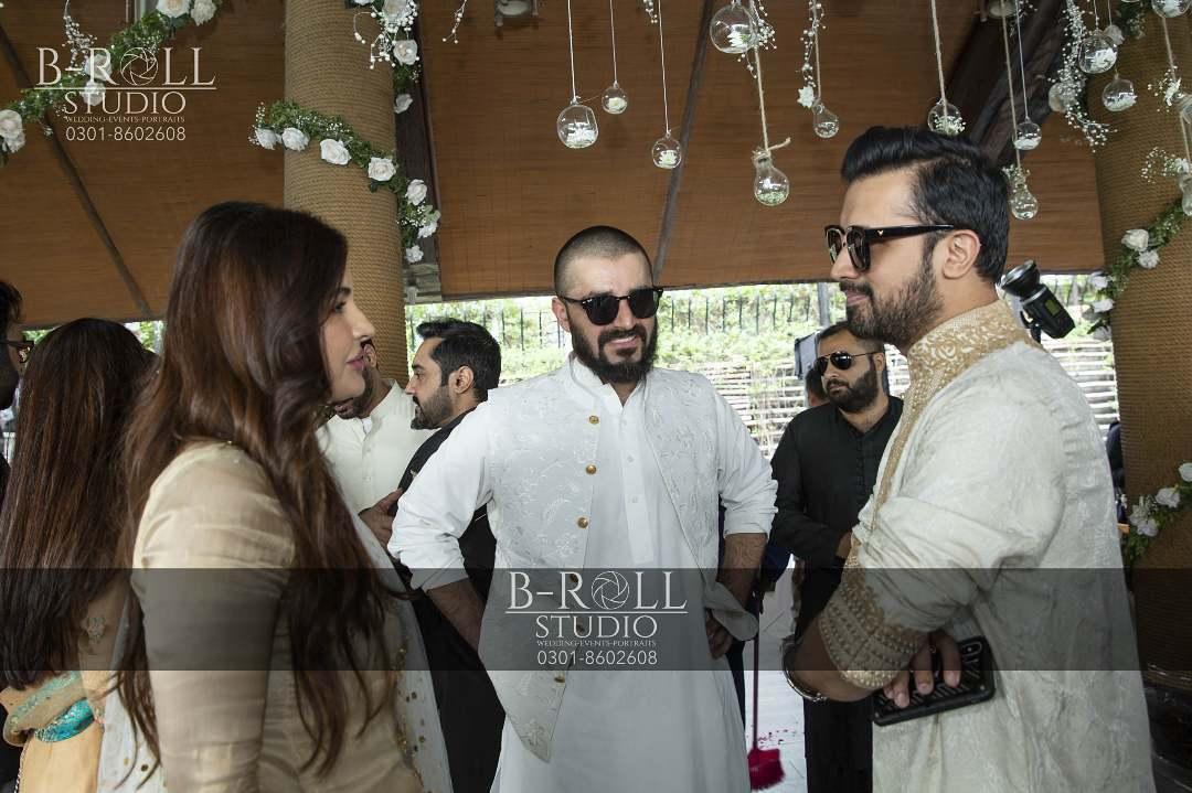 Hamza Ali Abbasi and Naimal Khawar Nikah HD Pictures Video (27)
