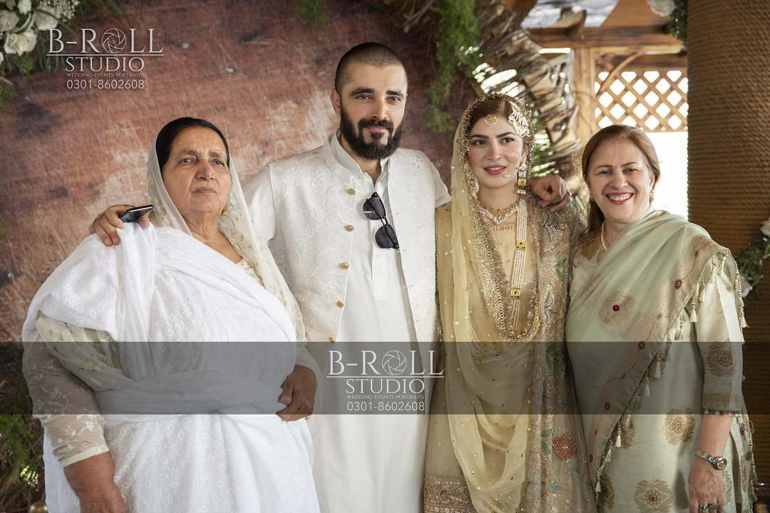 Hamza Ali Abbasi and Naimal Khawar Nikah HD Pictures Video (29)