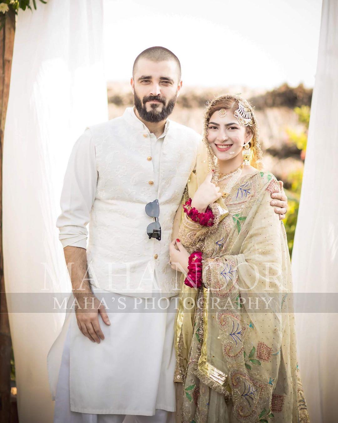 Hamza Ali Abbasi and Naimal Khawar Nikah HD Pictures Video (31)