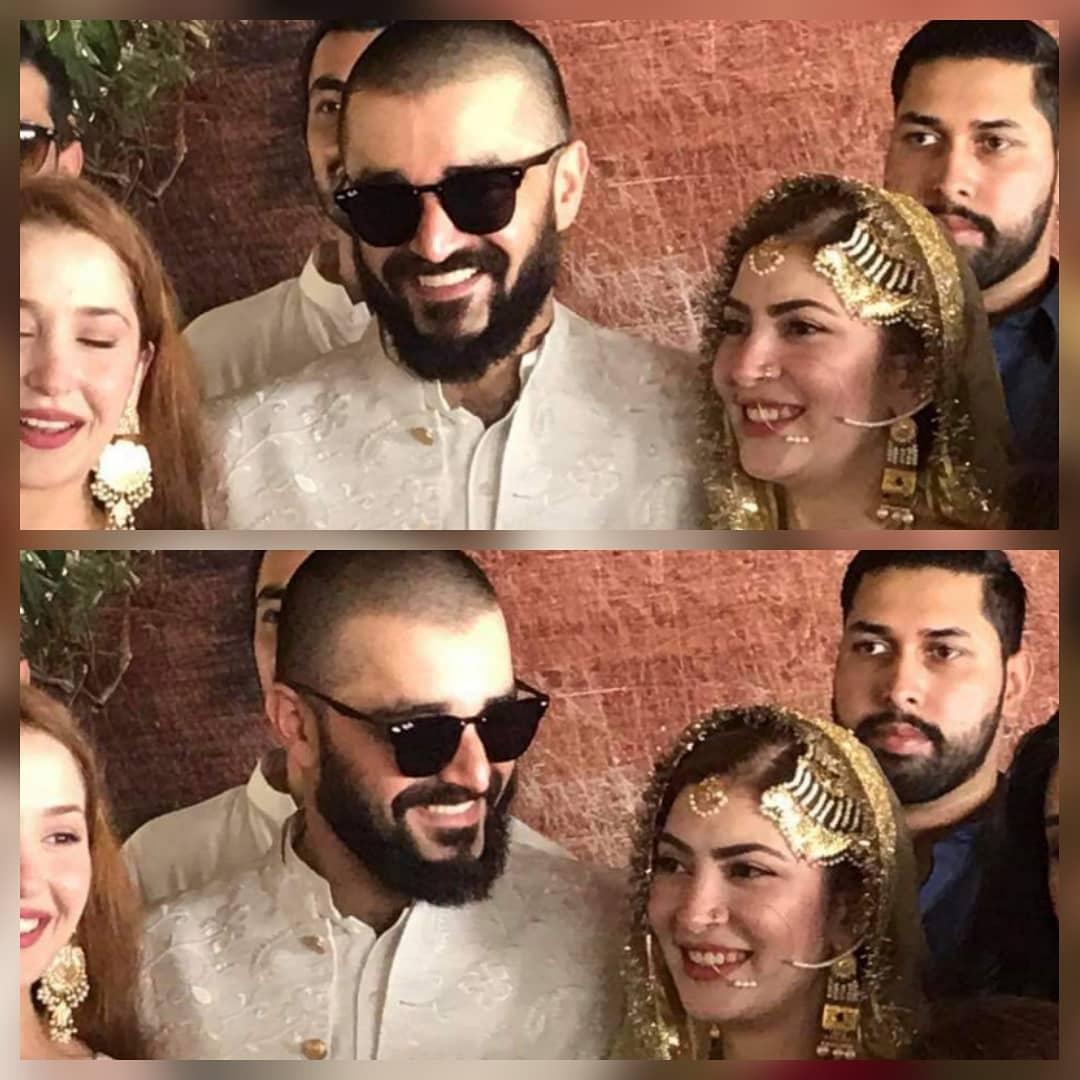 Hamza Ali Abbasi and Naimal Khawar Nikah HD Pictures Video (34)