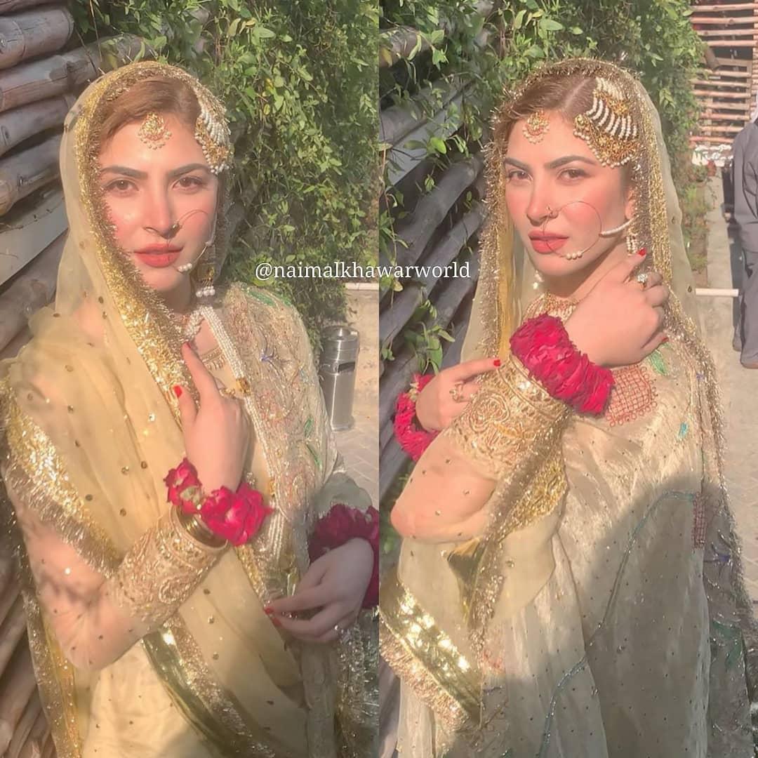 Hamza Ali Abbasi and Naimal Khawar Nikah HD Pictures Video (35)