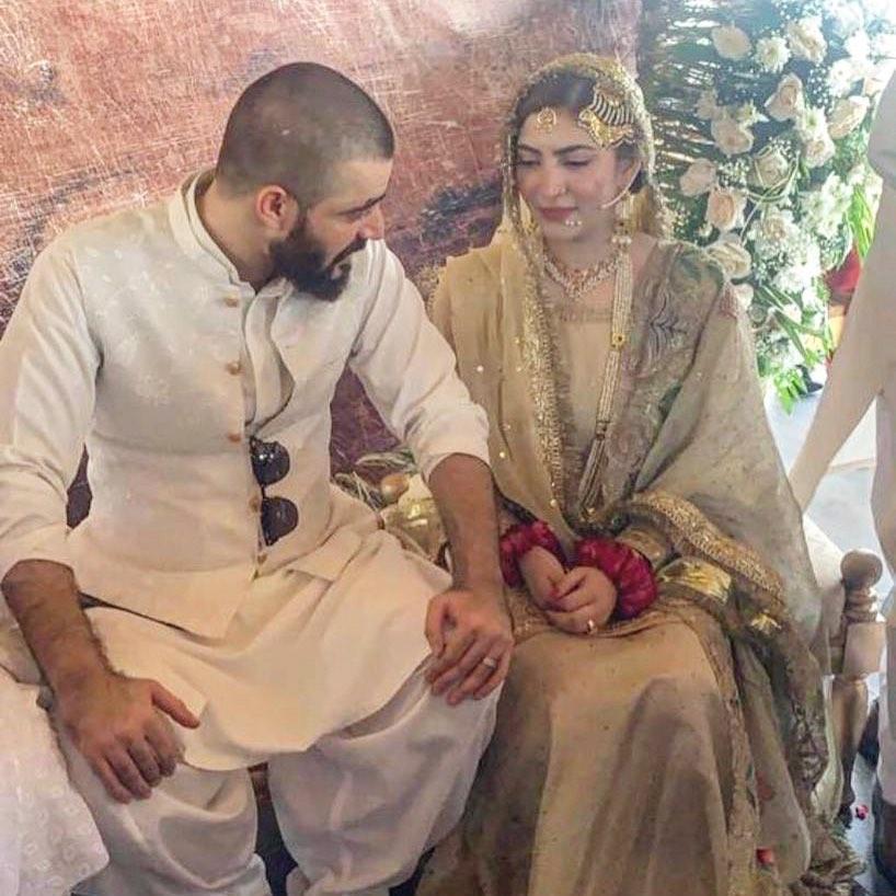 Hamza Ali Abbasi and Naimal Khawar Nikah HD Pictures Video (37)