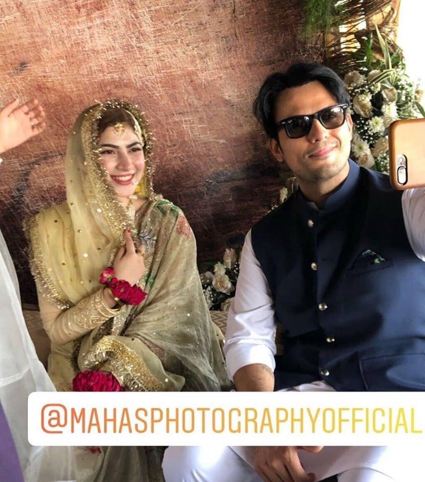 Hamza Ali Abbasi and Naimal Khawar Nikah HD Pictures Video (38)