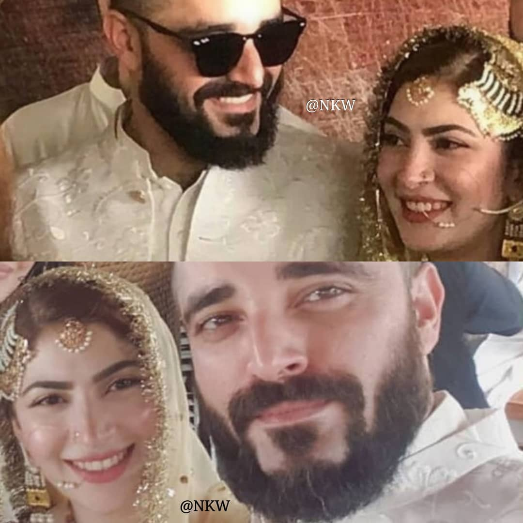 Hamza Ali Abbasi and Naimal Khawar Nikah HD Pictures Video (41)