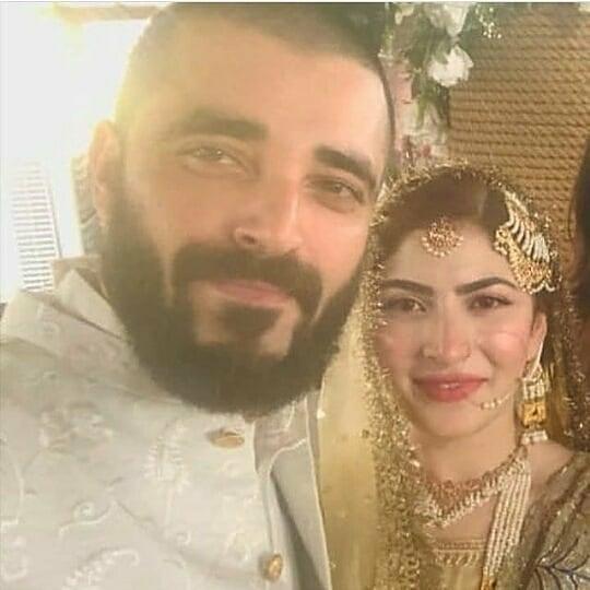 Hamza Ali Abbasi and Naimal Khawar Nikah HD Pictures Video (7)