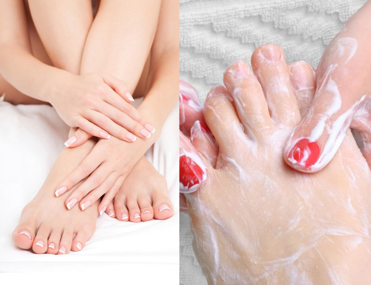 How to do pedicure to whiten your feet at home (1)