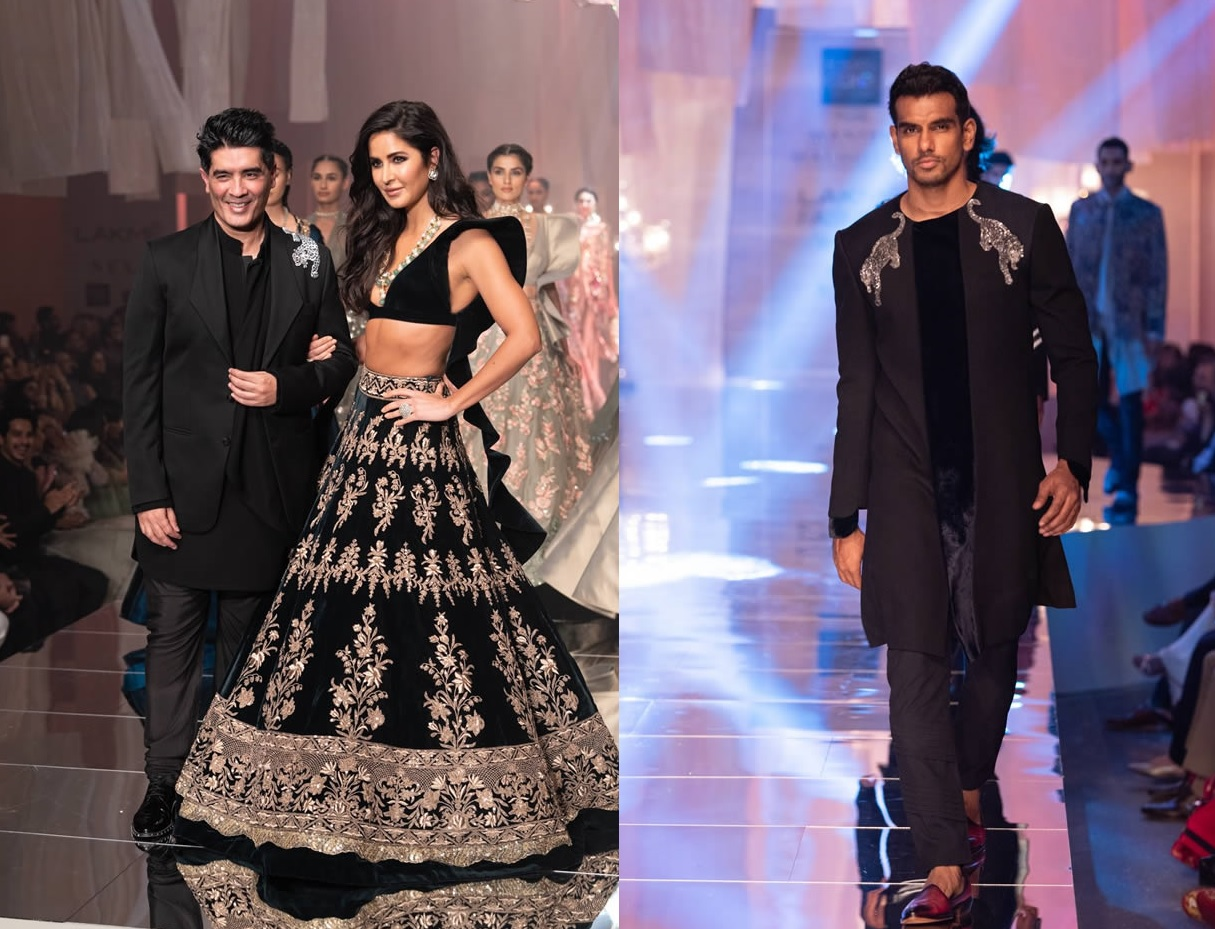 Katrina Kaif Walks at LFW 2019 Ramp for Manish Malhotra (1)