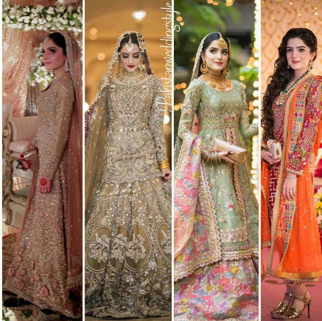 Pakistani Bridals Mehndi Dresses Ideas 2019 (11)