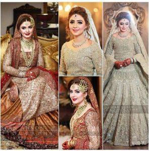 Pakistani Bridals Mehndi Dresses Ideas 2019 (12)