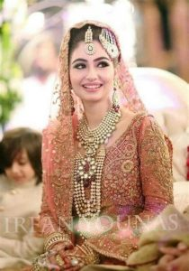 Pakistani Bridals Mehndi Dresses Ideas 2019 (16)