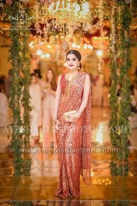 Pakistani Bridals Mehndi Dresses Ideas 2019 (5)