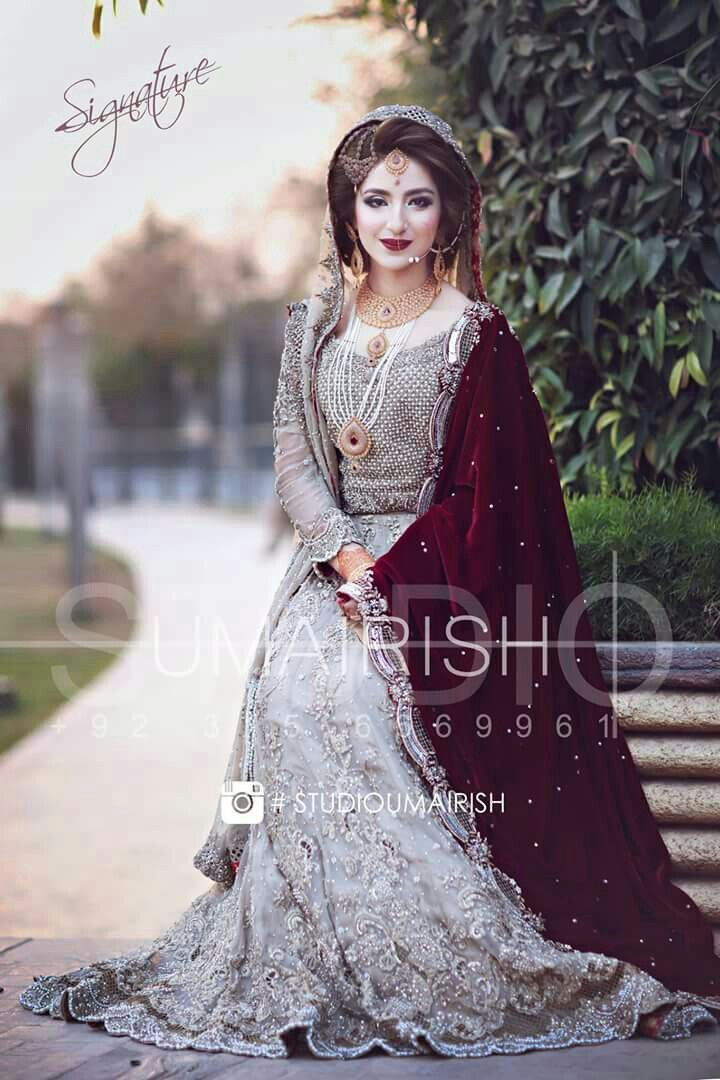 Pakistani Bridals Mehndi Dresses Ideas 2019 (6)