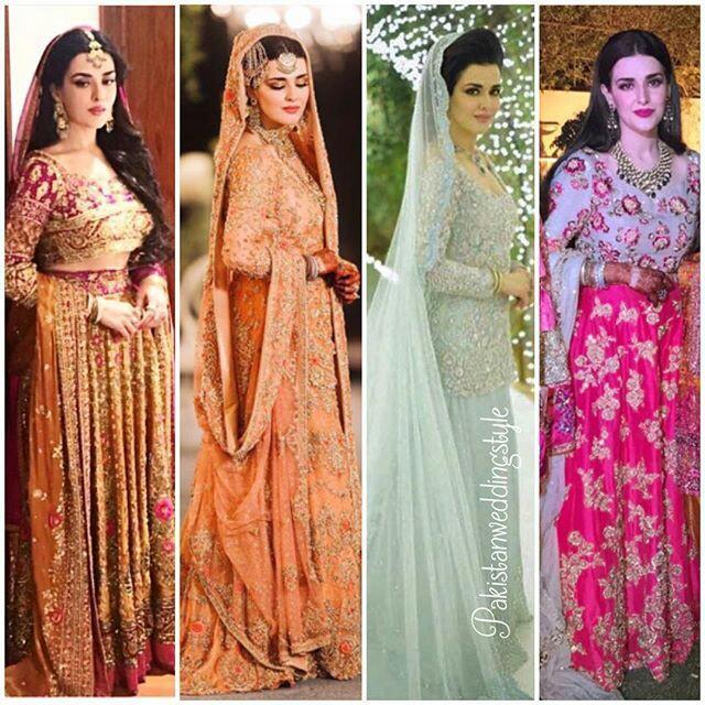 Pakistani Bridals Mehndi Dresses Ideas 2019 (8)