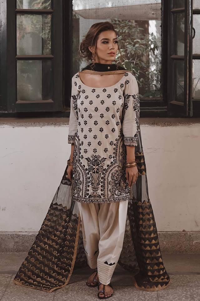 """Saira Rizwan """"Ik Serra"""" 2019 Collection (6)"""