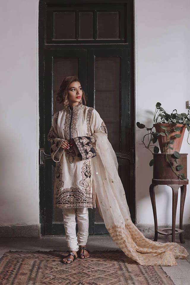 """Saira Rizwan """"Ik Serra"""" 2019 Collection (8)"""