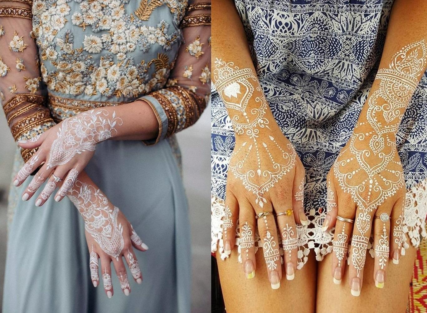 Women's Love White Henna Fashion 2019