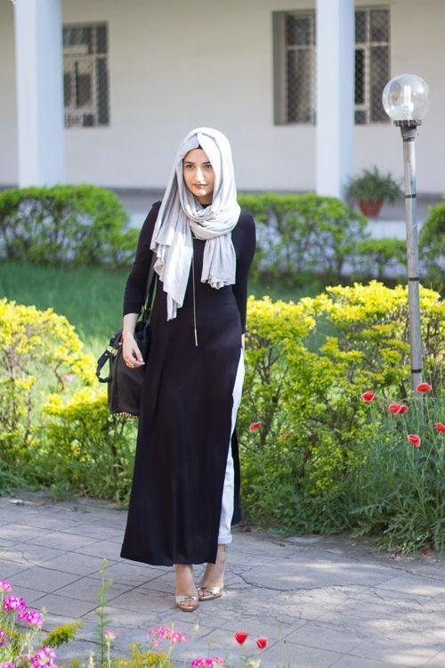How Pakistani Womens Wear Hijab With Shalwar kameez (10)