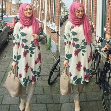 How Pakistani Womens Wear Hijab With Shalwar kameez (5)