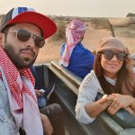 Pakistani Actor Fahad Mustafa in Dubai with Wife and Daughter (5)
