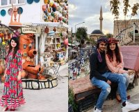 Alizeh Tahir Pakistani Actress Pictures from Cappadocia Turkey (1)