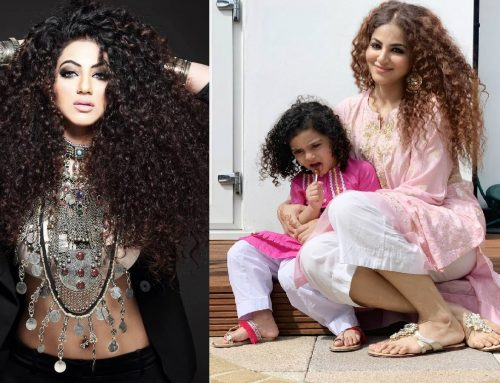 Annie Khalid Pakistani Female Singer Images with her Daughter Isha