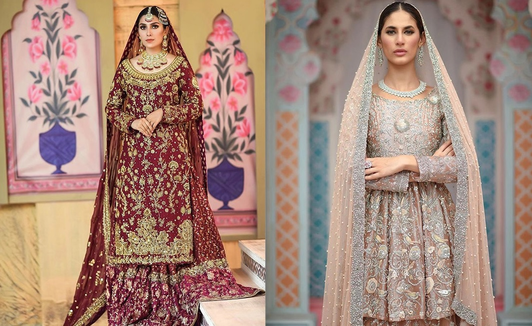 Ansab Jahangir Bridal Embroidered Dresses Collection Ranya 2019 (1)