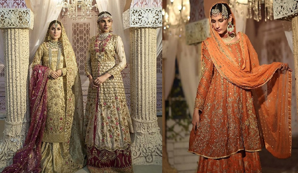 Ansab Jahangir Bridal Embroidered Dresses Collection Ranya 2019 (2)