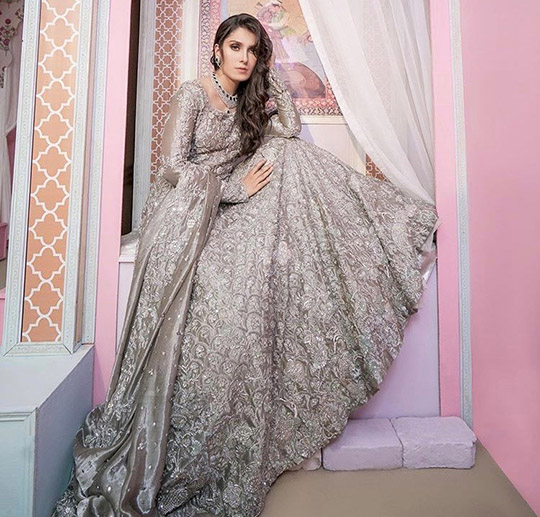 Ansab Jahangir Bridal Embroidered Dresses Collection Ranya 2019 (3)