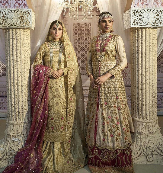 Ansab Jahangir Bridal Embroidered Dresses Collection Ranya 2019 (7)