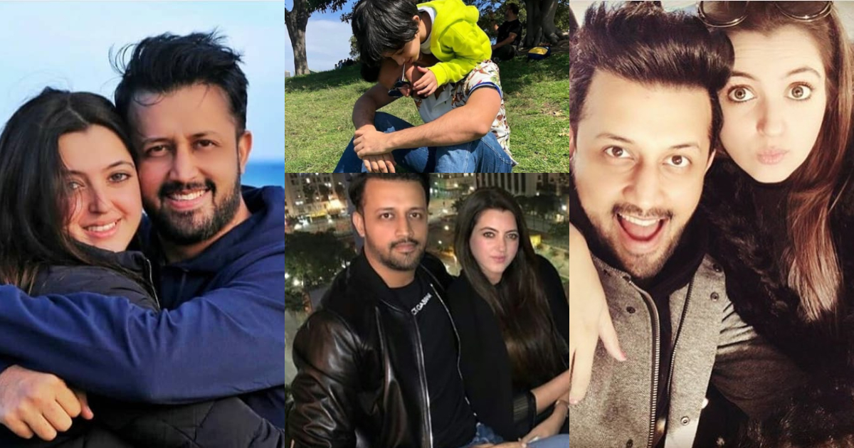 Atif Aslam Latest Images with his Wife Sara Bharwana (13)