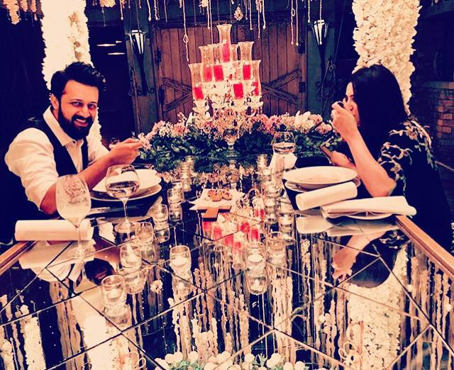 Atif Aslam Latest Images with his Wife Sara Bharwana (7)
