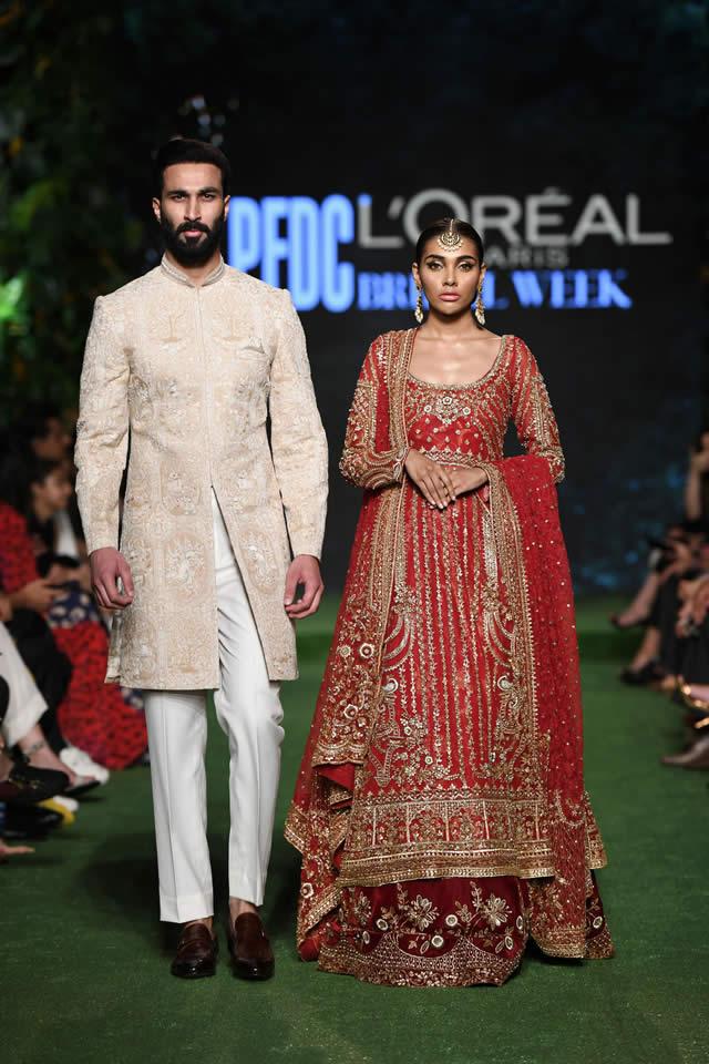 DILARA Bridal Dress Collection at PLBW 2019 By Sania Maskatiya (3)