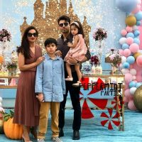 Fawad Khan Daughter Elayna Fawad Birthday Party Images With Pakistani Celebrities (1)