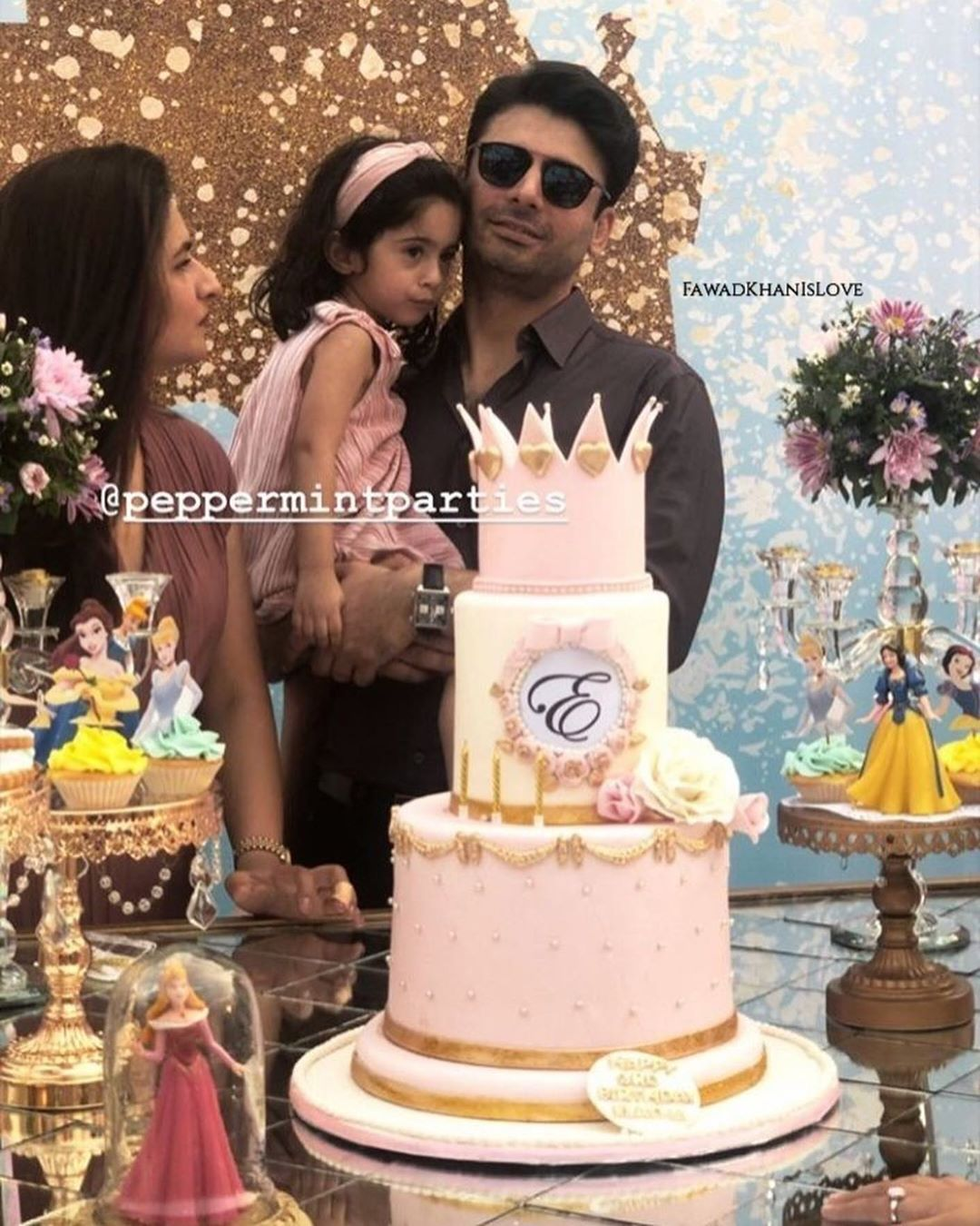 Fawad Khan Daughter Elayna Fawad Birthday Party Images With Pakistani Celebrities (13)