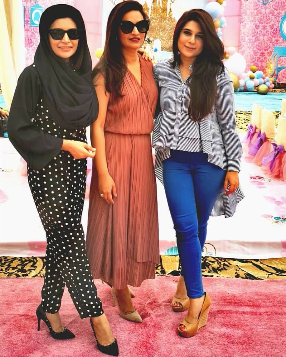 Fawad Khan Daughter Elayna Fawad Birthday Party Images With Pakistani Celebrities (2)