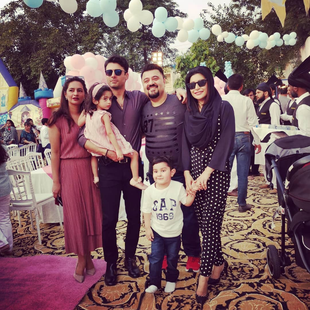 Fawad Khan Daughter Elayna Fawad Birthday Party Images With Pakistani Celebrities (3)