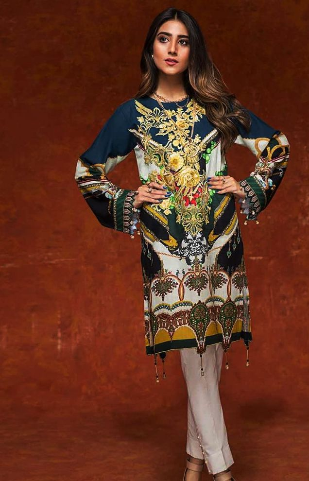 Gul Ahmed Gulistan Winter Glamour Unstitched Collection 2019 (14)
