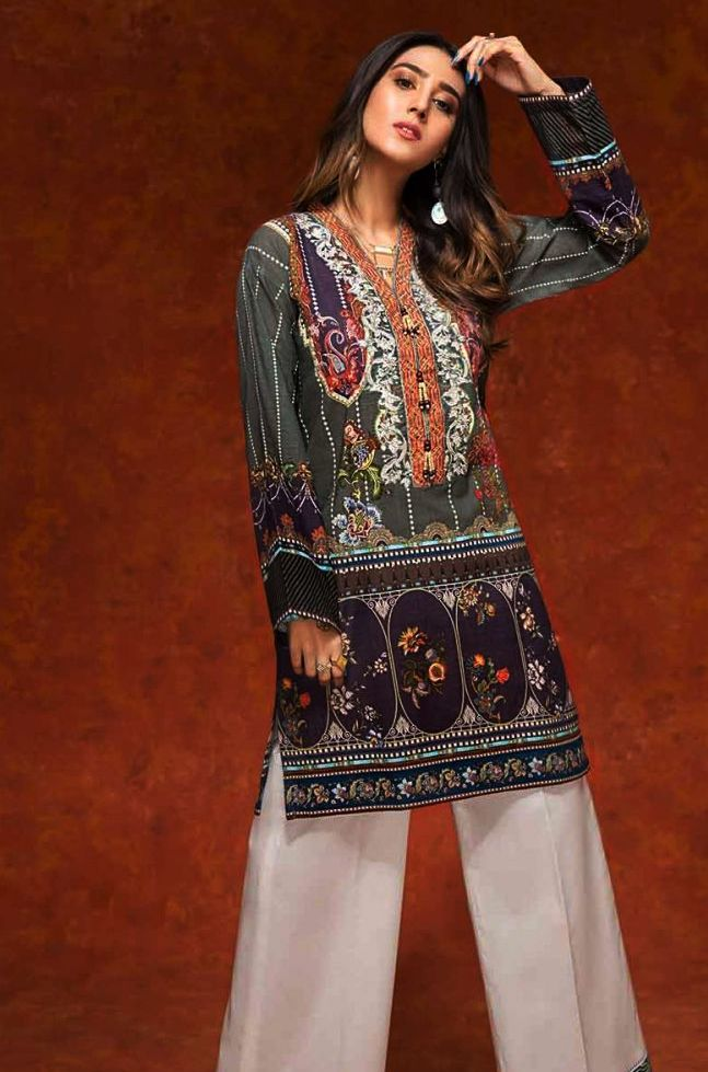 Gul Ahmed Gulistan Winter Glamour Unstitched Collection 2019 (9)