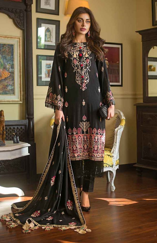 Gul Ahmed Latest Winter Collection 2019 (10)